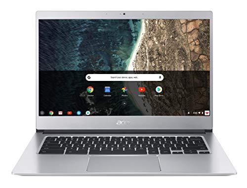 Acer Chromebook 514 CB514-1H-C0N4 Notebook Portatile, Intel Celeron Quad Core N3450, RAM 4GB DDR3, eMMC 64GB, Display...