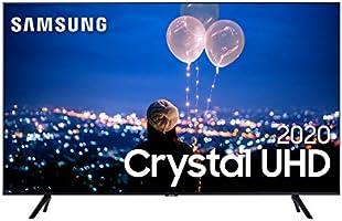 """Smart TV 55"""" 4K Samsung UN55TU8000GXZD, Crystal UHD, Borda Infinita, Alexa Built In, Visual Livre de Cabos, Modo..."""