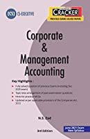 Taxmann's CRACKER - Corporate & Management Accounting | CS-Executive - New Syllabus | Updated till 30-11-2020 | June 2021 Exam | 3rd Edition | January 2021