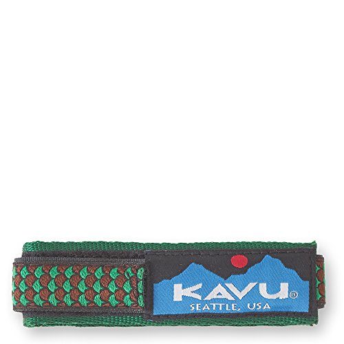 KAVU Watchband - Nylon Webbing Wrist Band for Any Watch Face-Fish Scale-S