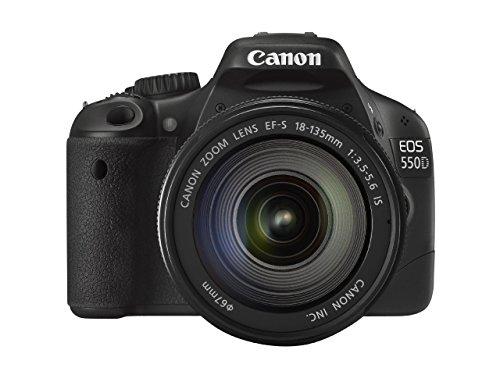 Canon EOS 550D Digital SLR Camera (inc 18-135 mm f/3.5-5.6 IS Lens Kit) (Certified Refurbished)