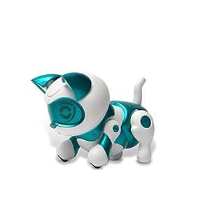Tekno Newborns 45910 Robotic Pet- Kitty, Teal