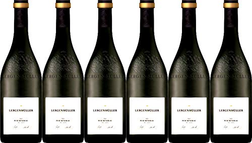 Lergenmüller Pur Mineral Chardonnay 2018 Trocken (6 x 0.75 l)