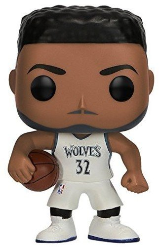 Funko- Pop Vinile: NBA: Karl Anthony Towns, Multicolore, 9 cm, 21798