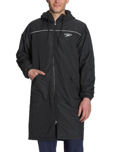 Speedo Jacke MIRO Unisex Wärmemantel, Black, XXL, 392500 060