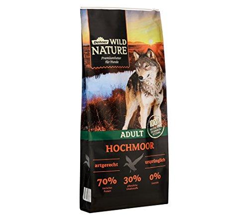 Dehner Wild Nature Hundetrockenfutter Adult, Hochmoor, 12 kg
