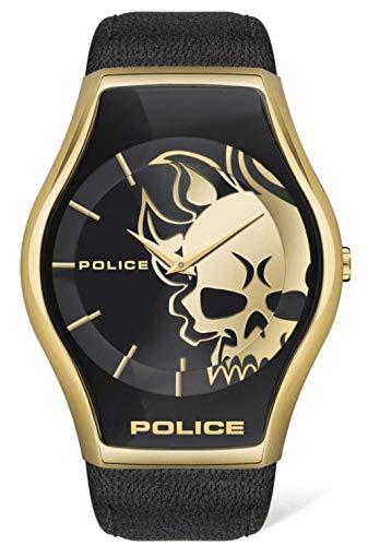 Police Reloj Hombre Diseño Calavera - Ref PEWJA2002301