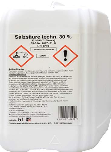 Salzsäure techn. 30% 5 Liter