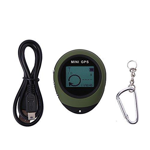 VGEBY Mini wasserdicht GPS Tracker Locator Portable GPS Navigator zum Wandern Camping Jagd Outdoor Abenteuer