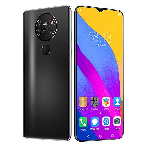 XIAOQIAO Smartphone Mate40 Pro + Teléfono Móvil con Pantalla Grande, Sistema Android 10.0, Disfrutando de la Cámara Frontal de 13 MP + 24 Millones de Cámaras Traseras HD