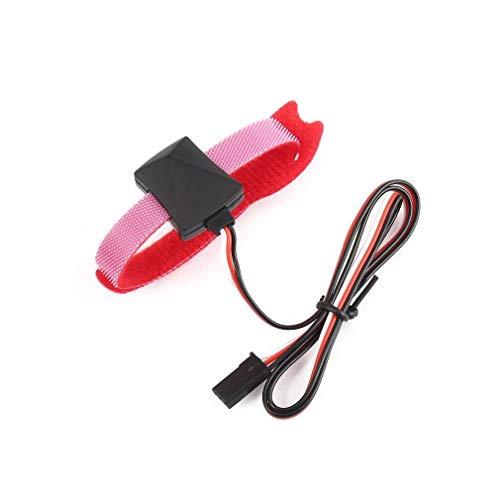 JEOSNDE Sensor de Temperatura de la sonda Cable Comprobador con detección de Temperatura for Las Piezas de Control de Cargador de batería Temperatura