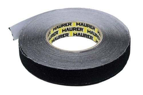 Maurer 099392 Antisdrucciolo, schwarz, 50 mm x 18.2 m