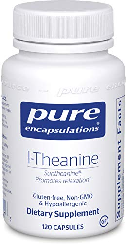 Best l theanine 400mg pure encapsulations for 2021