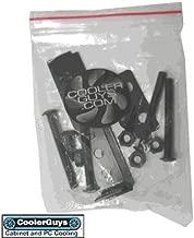 Coolerguys Fan Mount/Stand Bracket Kit (Black Metal)