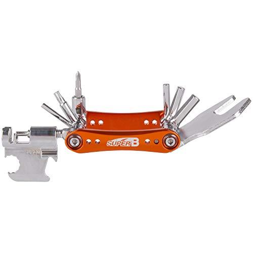 SuperB TB-FD55 Mini Outil Unisexe pour Adulte Orange/argenté
