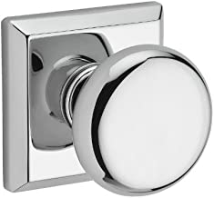 Baldwin FDROUTRR152 Reserve Full Dummy Lockset x Round with Traditional Round Rose in Matte Antique Nickel Finish