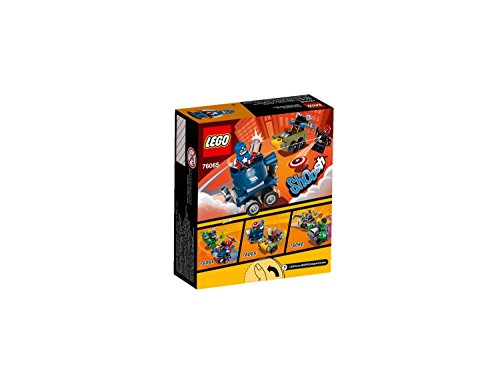 LEGO - 76065 - Marvel Super Heroes - Mighty Micros - Captain America contre Red Skull