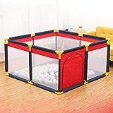 Tragbarer Kinderspielplatz Baby Safety Zaun Falten Spielzaun -