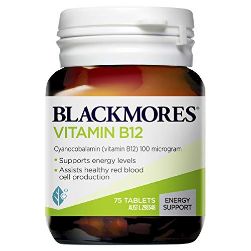 Blackmores Vitamin B12 (75 Tablets)