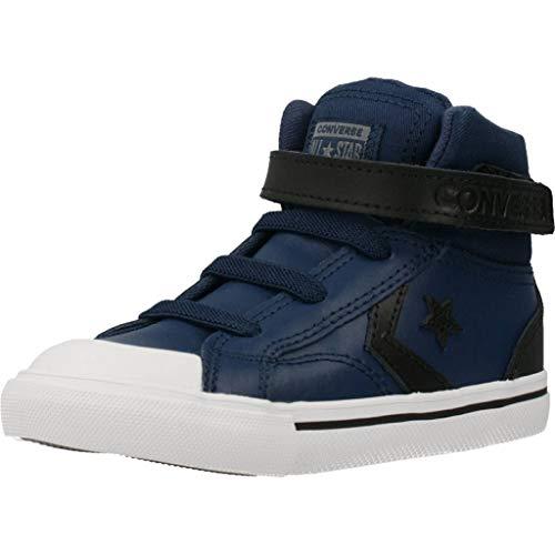 CONVERSE Pro Blaze Strap Martian Leather HI Zapatillas Moda Nino Azul/Negro Zapatillas Altas