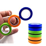 Magnetic Rings Fidget Spinner Toys,FingerMagneticRing,,MagneticFingertipToys,Stress Relief Magical Bracelet Ring Toy Colorful Magic Finger Game Decompression Tools (Mix Color)