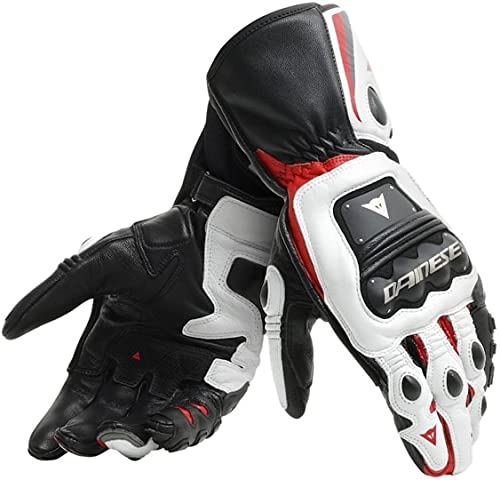 Dainese Steel-Pro Guanti moto Nero/Bianco/Rosso