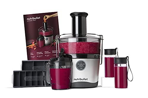 NutriBullet Spremiagrumi Elettrico, 1000 watt, 3 livelli di velocità, beccuccio antigoccia, facile da pulire, senza BPA