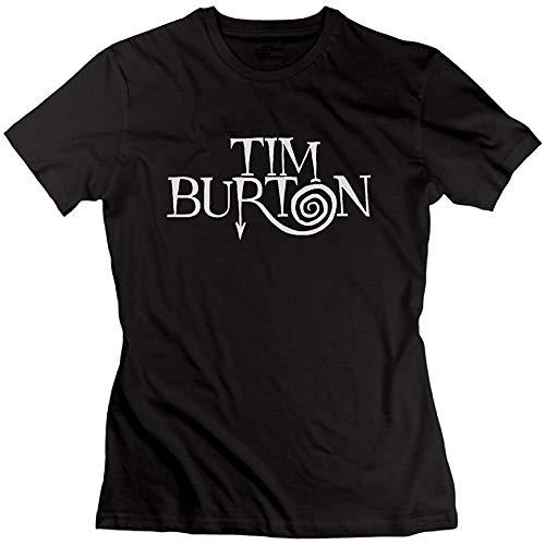Women's Tees The World of Tim Burton Black