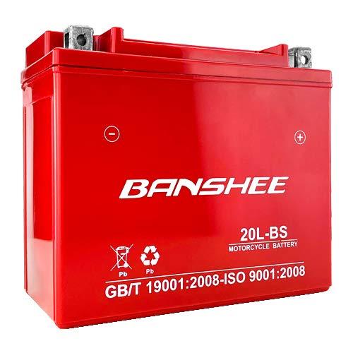 Battery YTX20L-BS Yamaha Big Bear Grizzly Kodiak 400 450 600 660 700 4YR Warranty
