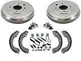 Brake Drums Shoes Wheel Cylinders Hardware Kit for Nissan 2007-2012 Sentra