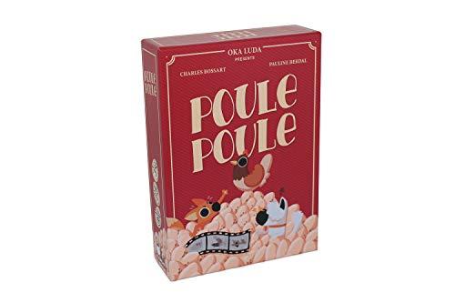 Poule Poule - Jeu de cartes d'ambiance - compter les oeufs -...