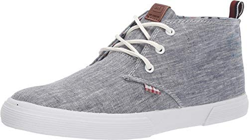 Ben Sherman Mens Bristol Chukka Navy Chambray Fashion Sneaker Size 8 product image