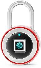 LOULE Tuya Smart Vingerafdruk Wachtwoord Hangslot Bluetooth Smart Lock Ip68 Waterdicht. Type-C Interface Langdurige Batter...
