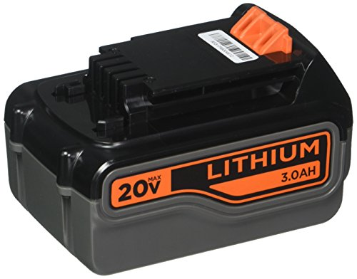 BLACK+DECKER 20V MAX Lithium Battery 3.0 Amp Hour (LB2X3020 OPE)