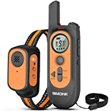 Dog Training Collar w/4 Modes, Voice Recording Beep Shock Vibration, Dog Collar with No Shock Mode,...