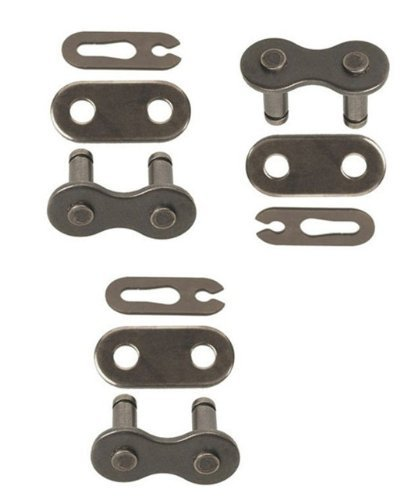 420 Chain Scooter Moped Connecting Master Link Pack of 3