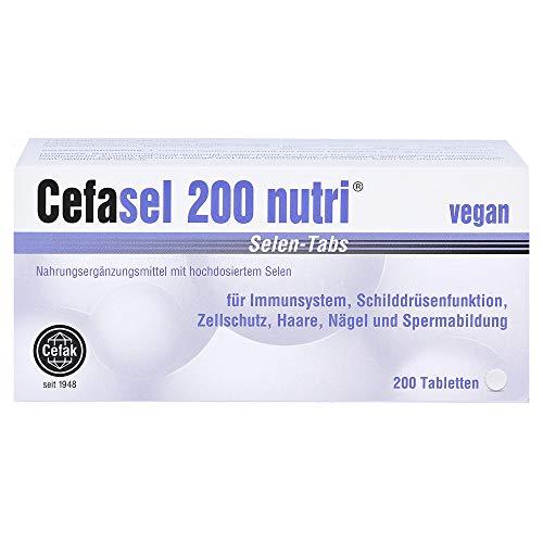 Cefasel 200 nutri Selen-Tabs, 200 St. Tabletten
