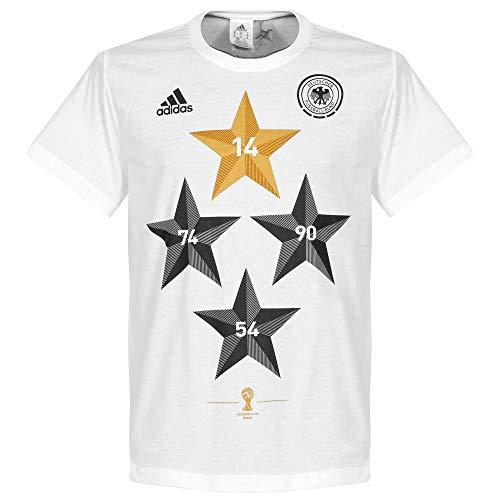 adidas 2014 Deutschland World Cup Winners T-Shirt - L
