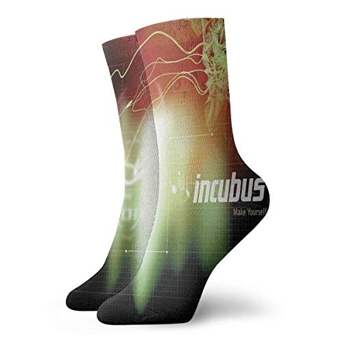 Incubus Make Yourself Vintage Crew Socks Moisture Wicking Athletic Workout Socks Warm Socks Unisex