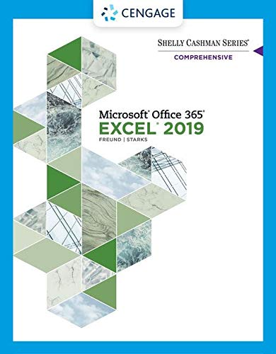 Shelly Cashman Series Microsoft Office 365 & Excel 2019 Comprehensive (MindTap Course List)