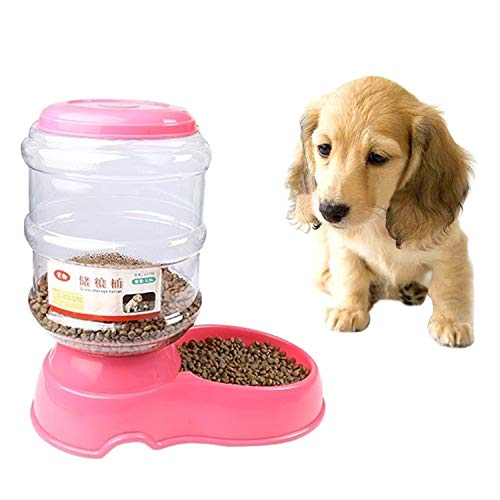 Tuzi Qiuge Pet Bowl Feeder, Hunde Katzen MachinelExe lösbare Pet Bowl Feeder