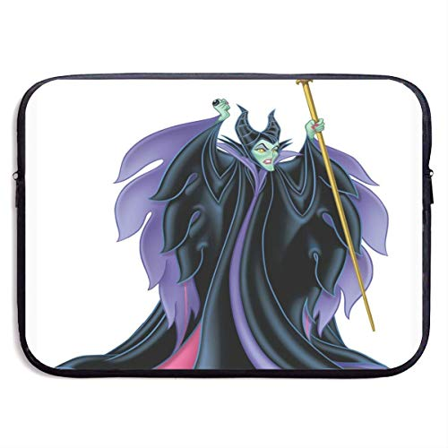 Maleficent Laptop Sleeve Bag Case,Waterproof and Foldable Laptop Briefcase Neoprene Soft Carring Tablet Travel Case,13 inch