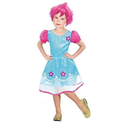 Disfraz Duende Troll para Niña (2-4 años)