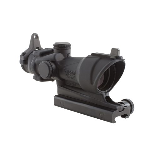 Trijicon 4x32 ACOG TA01NSN308 Scope with Amber Center Illumination Reticle