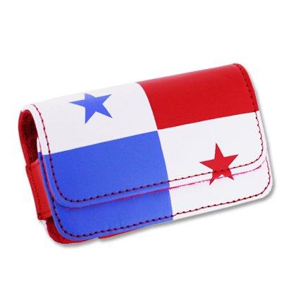 Reiko Design Pouch voor Motorola V3 - Retail Verpakking - Cuba Vlag, Stand Case, Panama Flag
