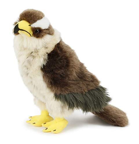 Habicht Bussard Greif Falke * 23 cm * Plüschtier * hawk falcon