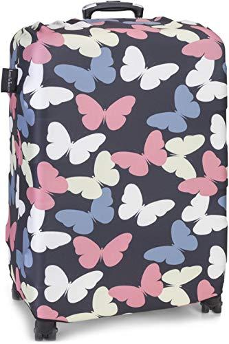 LuxuryforTravel - elastische Kofferschutzhülle auffallende Kofferhülle Kofferüberzug Luggage...