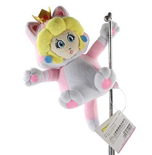 feilongzaitian Plüschtier 18 cm Super Katze Prinzessin Pfirsich Plüschtier Weiche Puppe Für Mädchen Kühlschrank Magnet