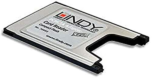 LINDY Adattatore PCMCIA a Compact Flash per schede Compact Flash su slot PCMCIA