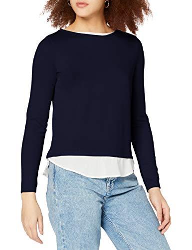Springfield 6764886T8 T-Shirt, Azul, S Womens